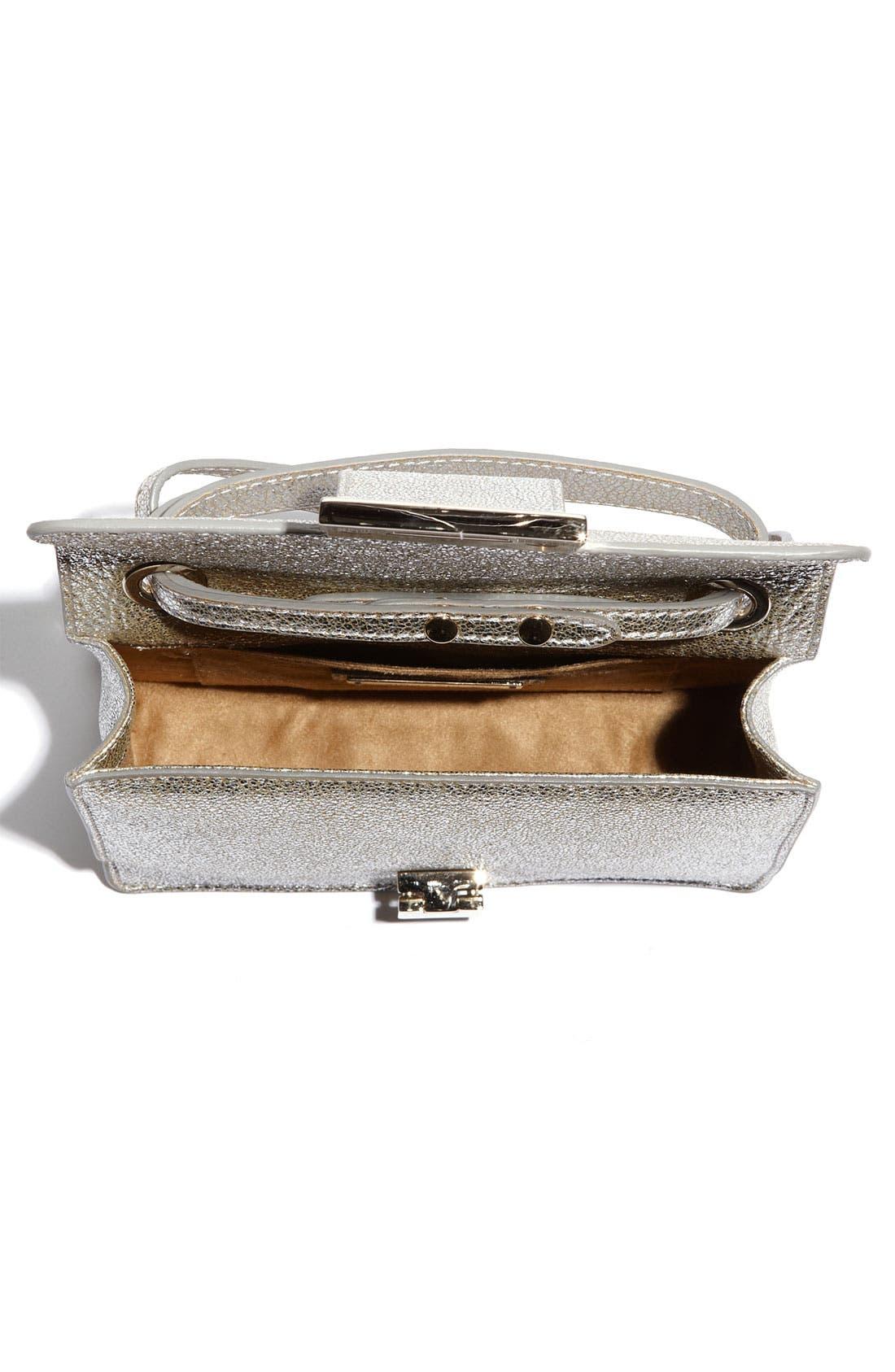 Alternate Image 3  - Jimmy Choo 'Rebel Mini' Glitter Leather Crossbody Bag