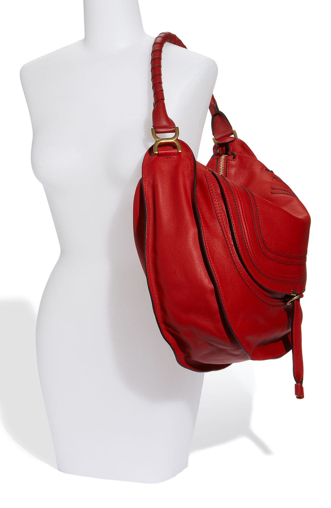 Alternate Image 2  - Chloé 'Marcie - Large' Leather Hobo