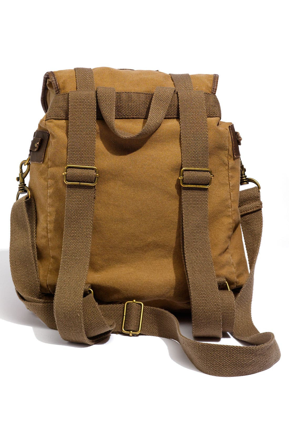 Alternate Image 2  - T-Shirt & Jeans Faux Leather Trim Field Backpack