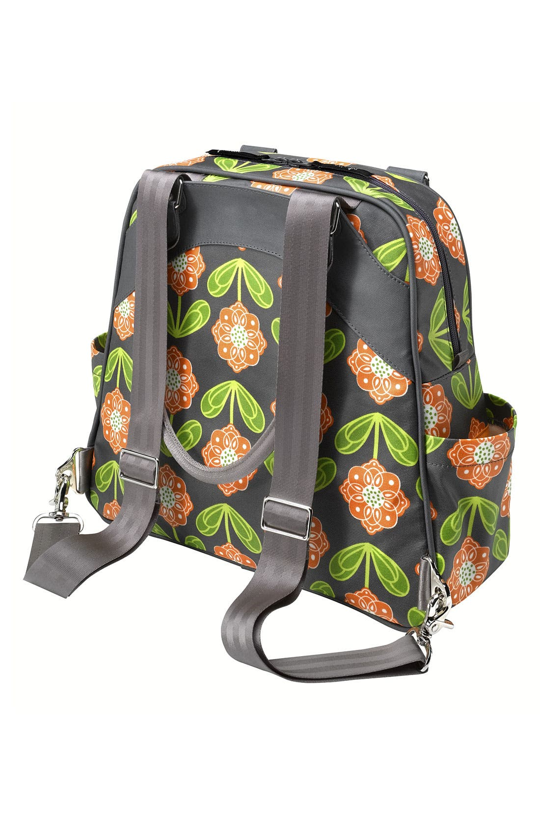 Alternate Image 2  - Petunia Pickle Bottom 'Glazed Sashay' Convertible Diaper Bag/Satchel