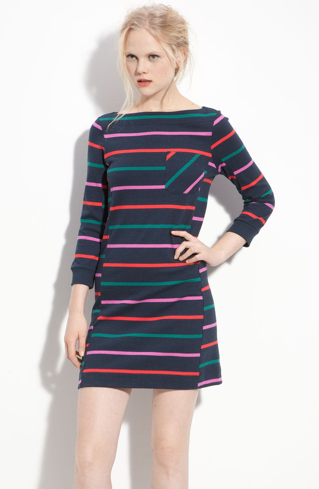 Main Image - MARC BY MARC JACOBS 'Mallory' Stripe Jersey Dress
