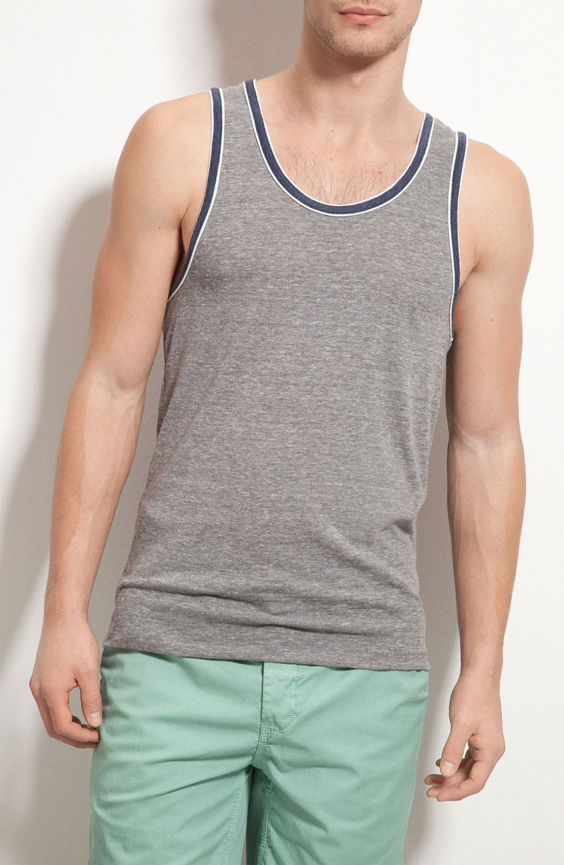 Alternate Image 1 Selected - Alternative Double Ringer Tank Top