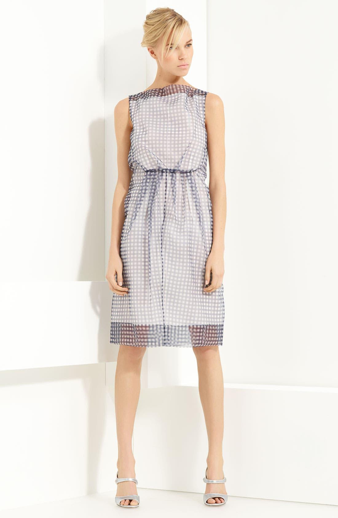Alternate Image 1 Selected - MARC JACOBS Gingham Print Organza Dress