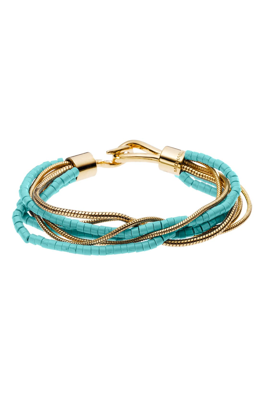 Alternate Image 1 Selected - Michael Kors 'Sleek Exotics' Multistrand Bracelet