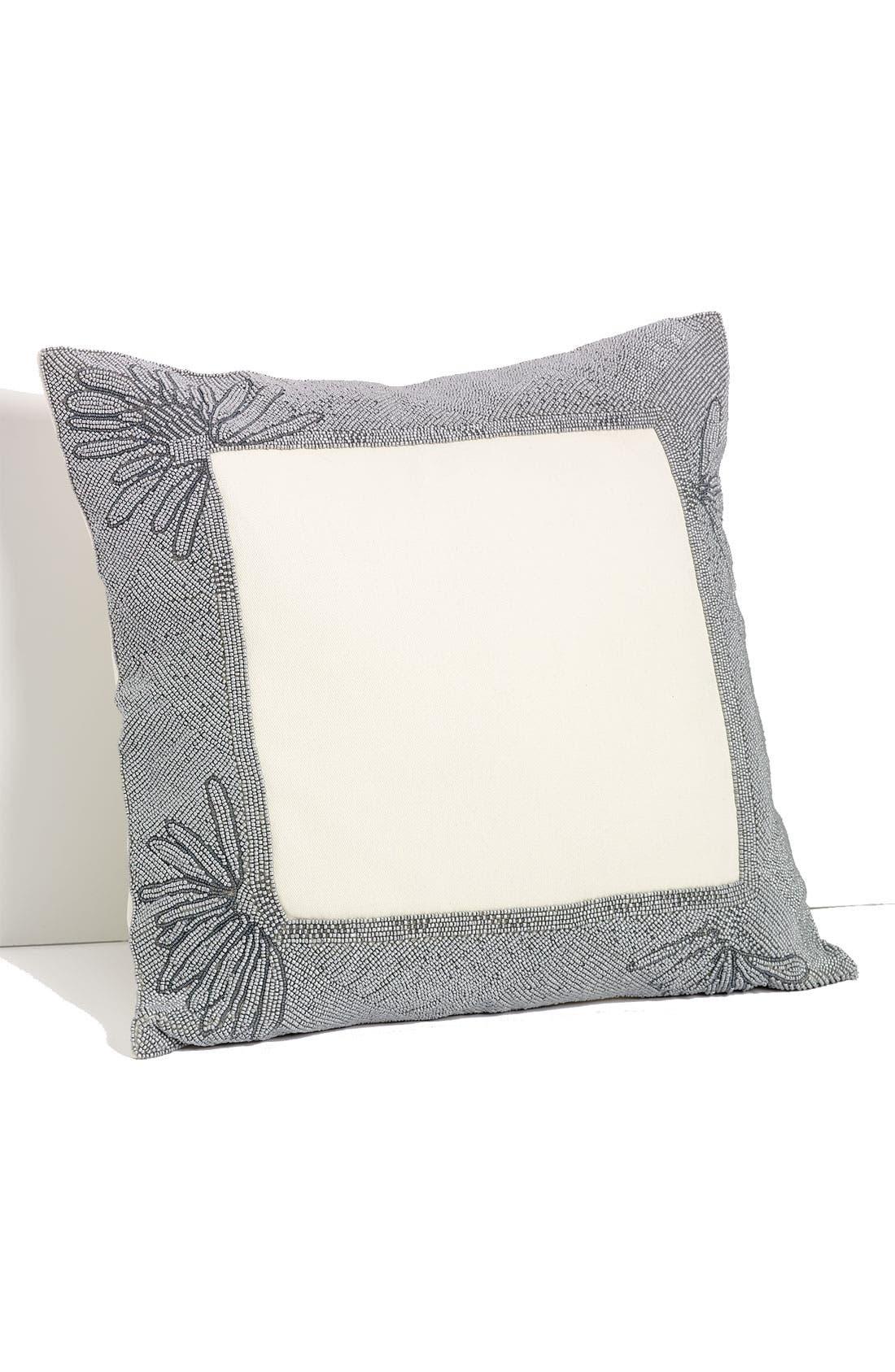 Alternate Image 1 Selected - Diane von Furstenberg 'Beaded Border' Pillow
