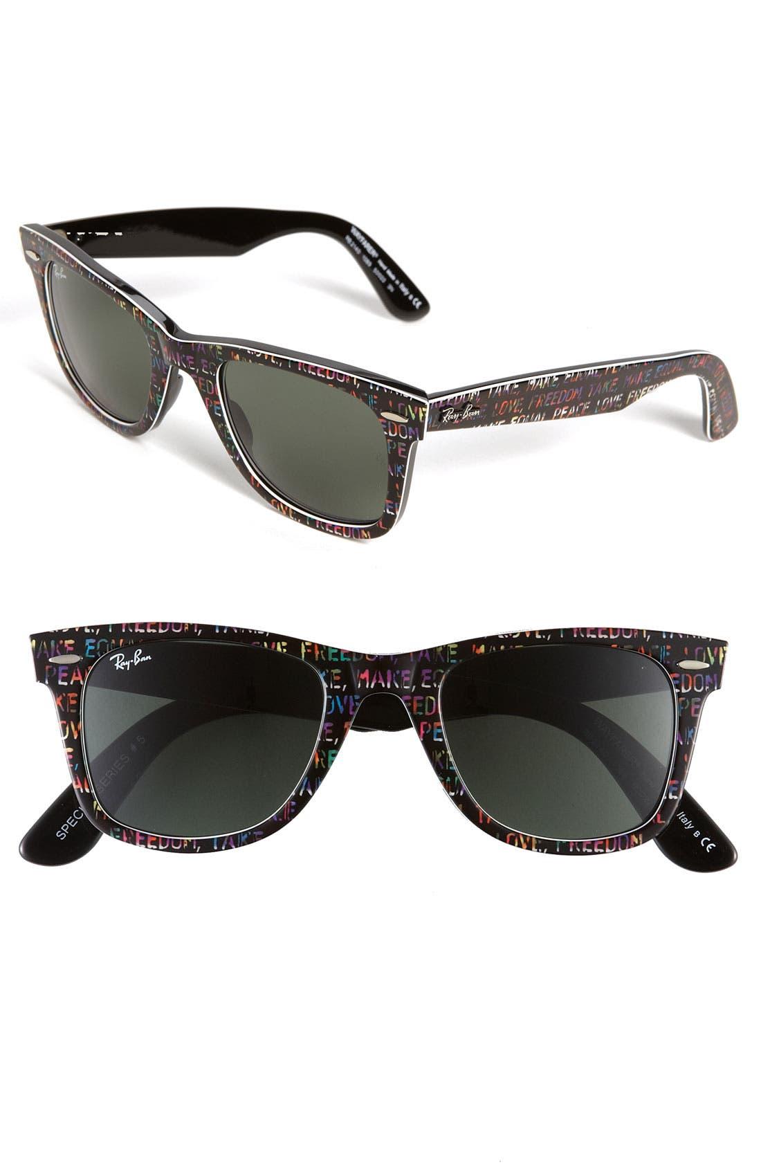 Alternate Image 1 Selected - Ray-Ban 'Classic Wayfarer' 50mm Sunglasses