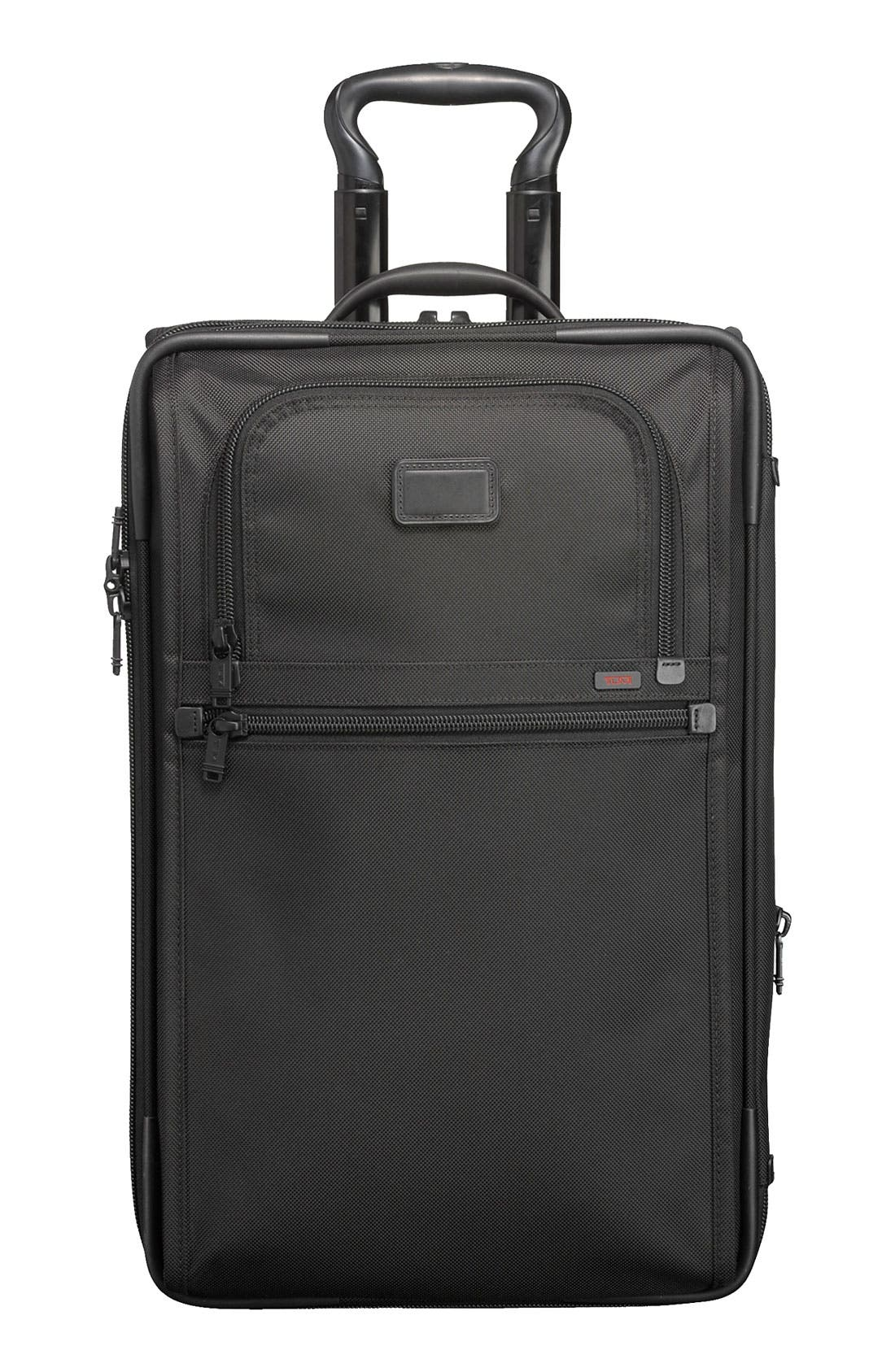 Alternate Image 1 Selected - Tumi 'Alpha' Frequent Traveler Zippered Expandable Carry-On
