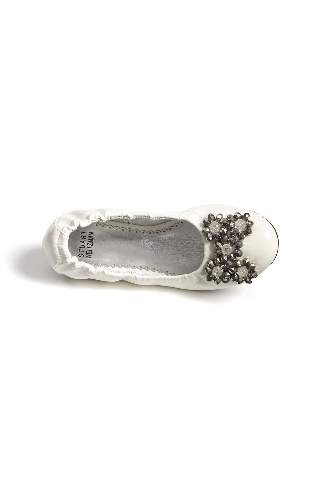 Alternate Image 3  - Stuart Weitzman 'Dazzle' Flat (Toddler, Little Kid & Big Kid)