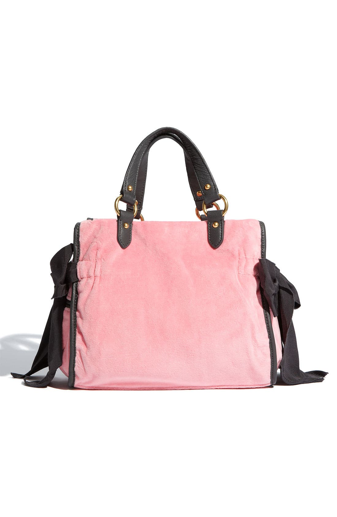Alternate Image 4  - Juicy Couture 'The Cameo Miss Daydreamer - Small' Velour Tote