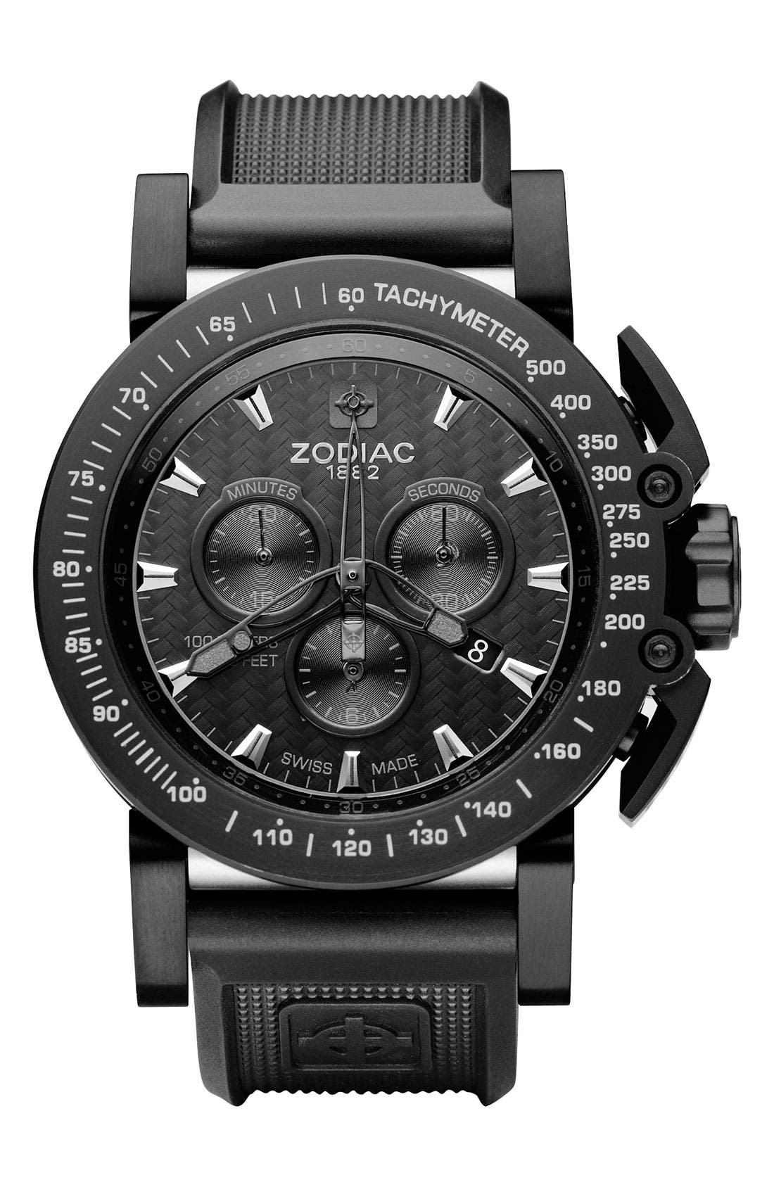 Alternate Image 1 Selected - Zodiac Chronograph Watch
