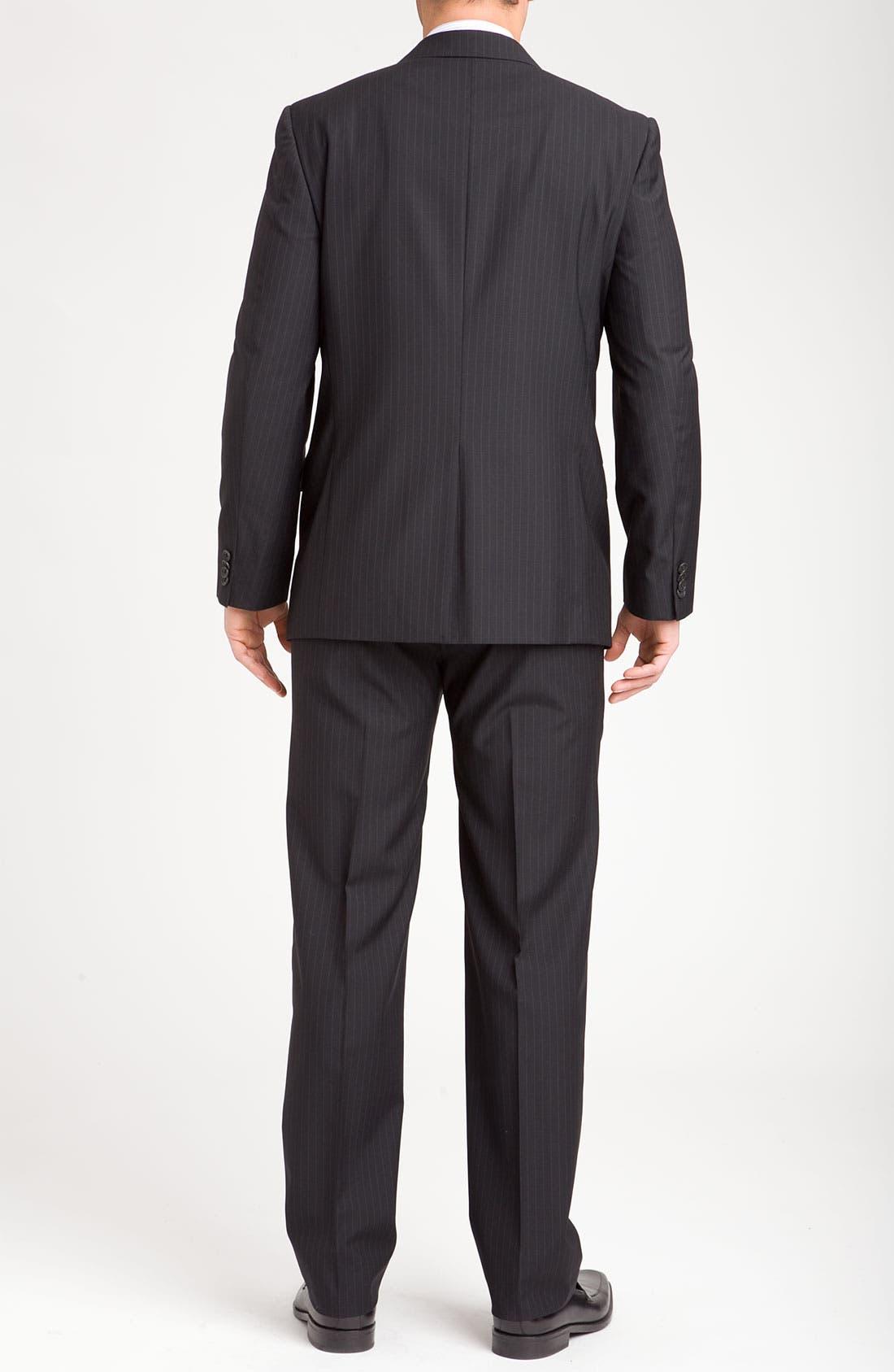 Alternate Image 3  - Joseph Abboud Two Button Stripe Suit