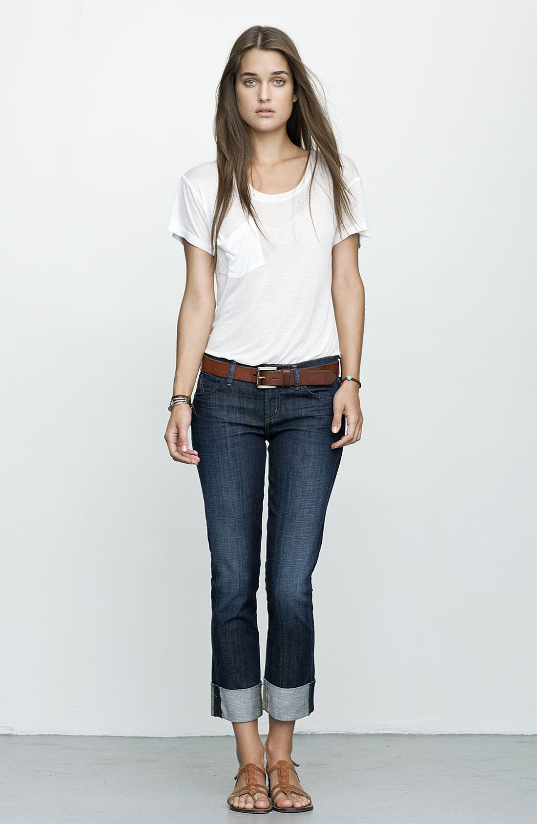 Alternate Image 3  - Citizens of Humanity 'Dani' Crop Straight Leg Jeans (Scorpio Wash)