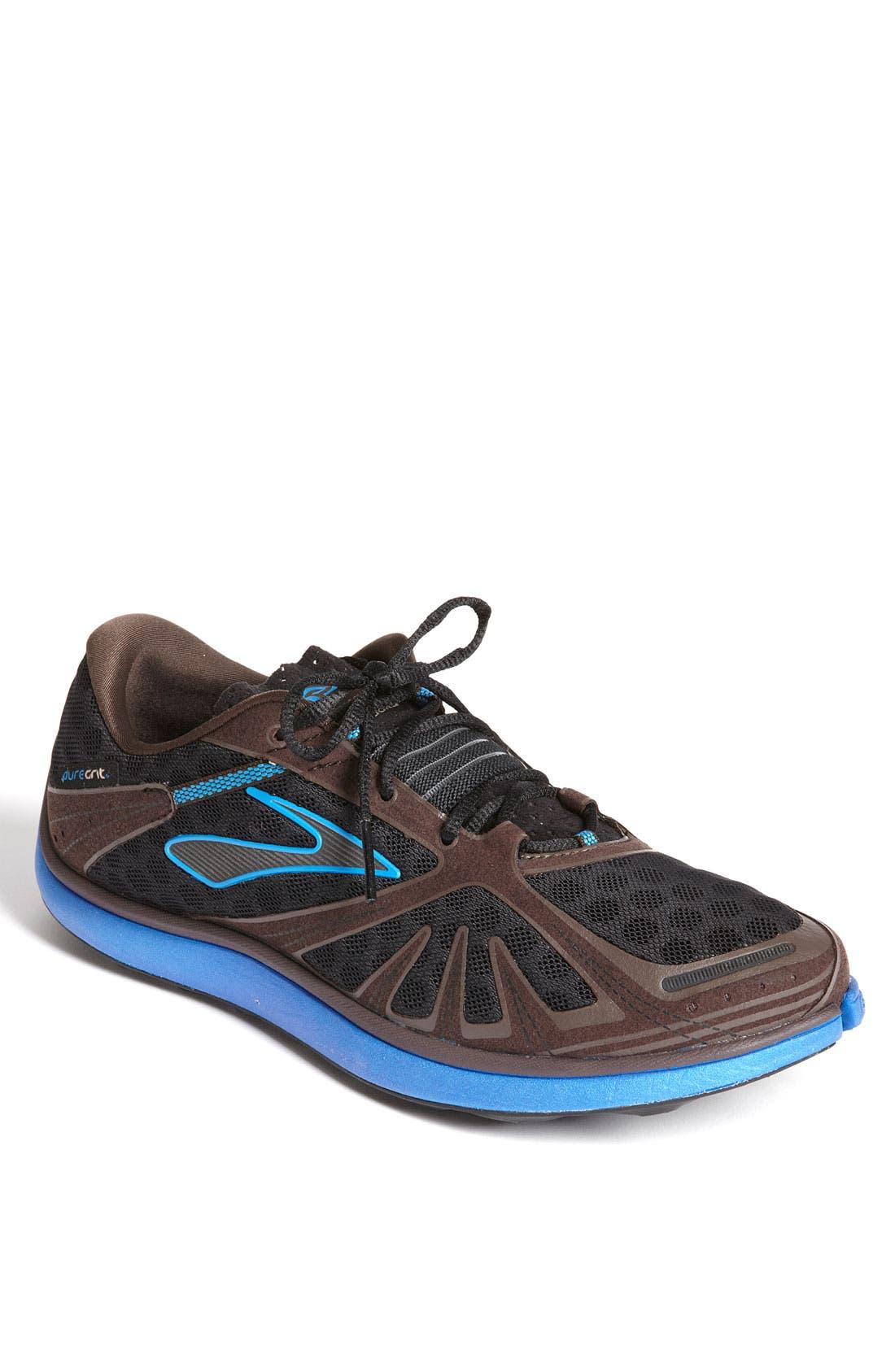 Alternate Image 1 Selected - Brooks 'Pure Grit' Running Shoe (Men)