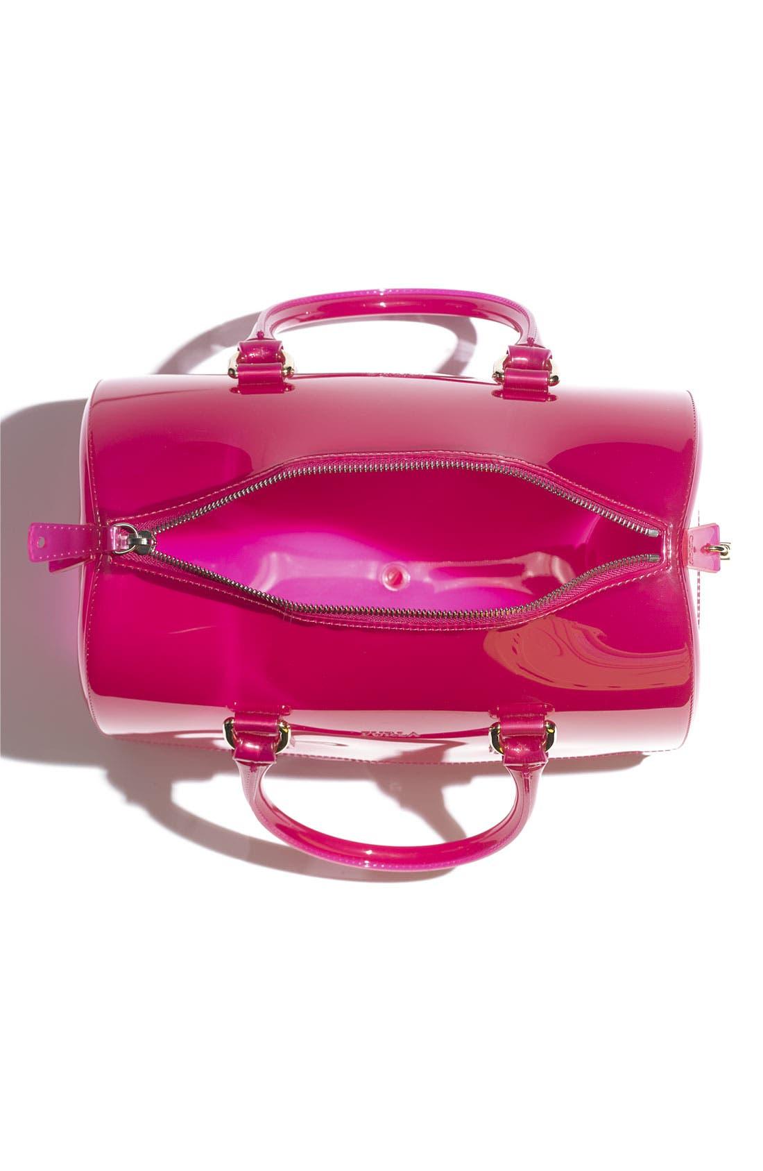 Alternate Image 4  - Furla 'Candy' Transparent Rubber Satchel