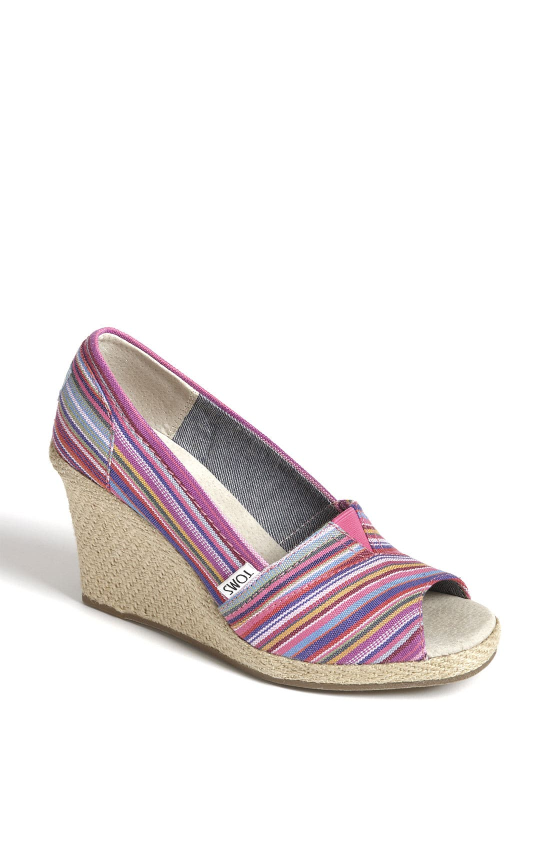 Alternate Image 1 Selected - TOMS 'Cruz' Woven Wedge (Exclusive)