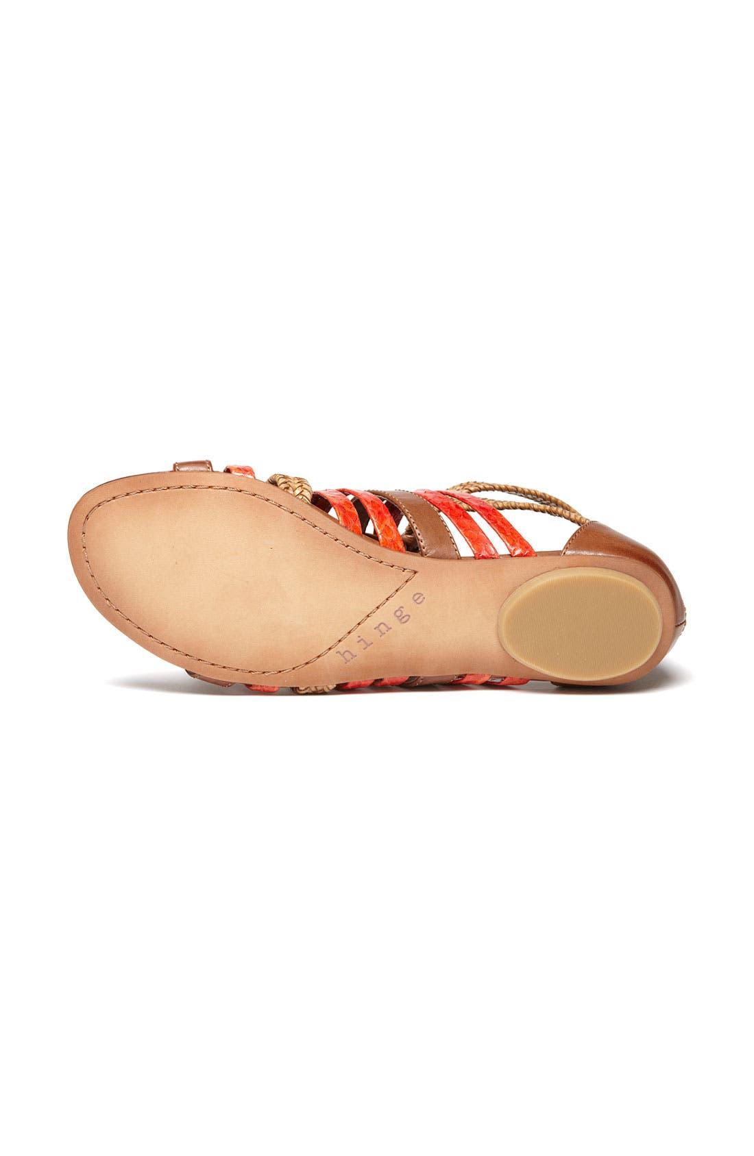 Alternate Image 4  - Hinge® 'Tanner' Sandal