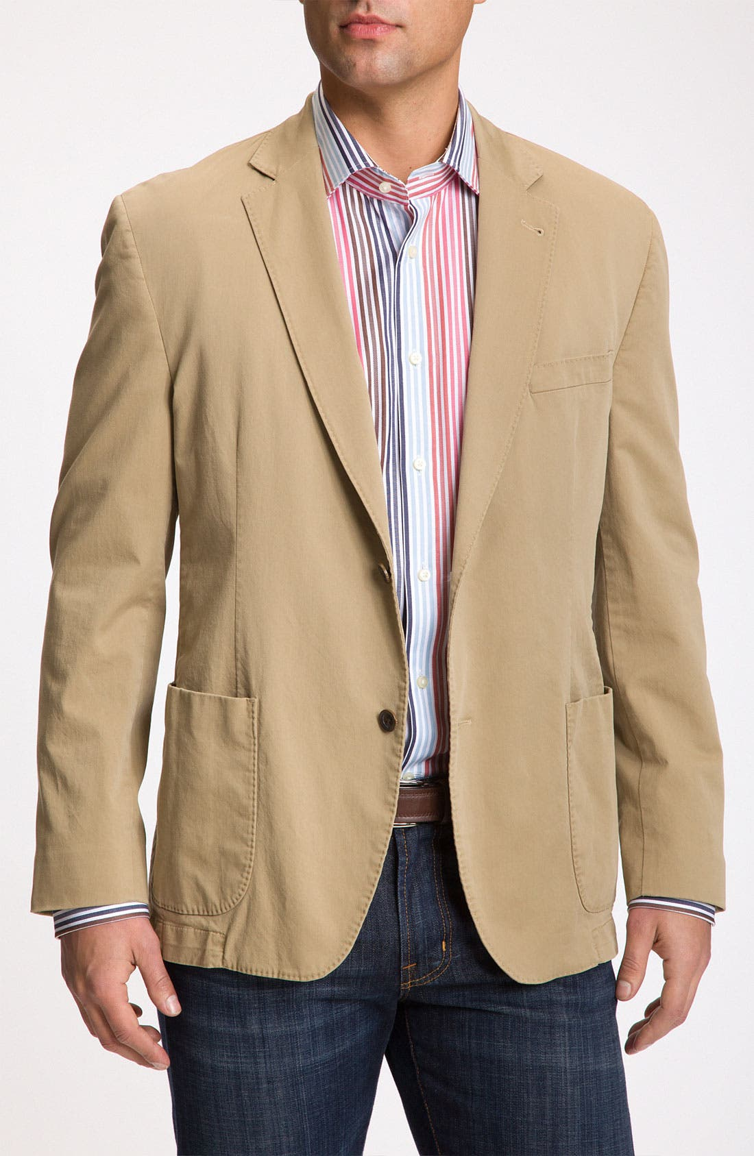 Alternate Image 1 Selected - Kroon Stretch Cotton Sportcoat
