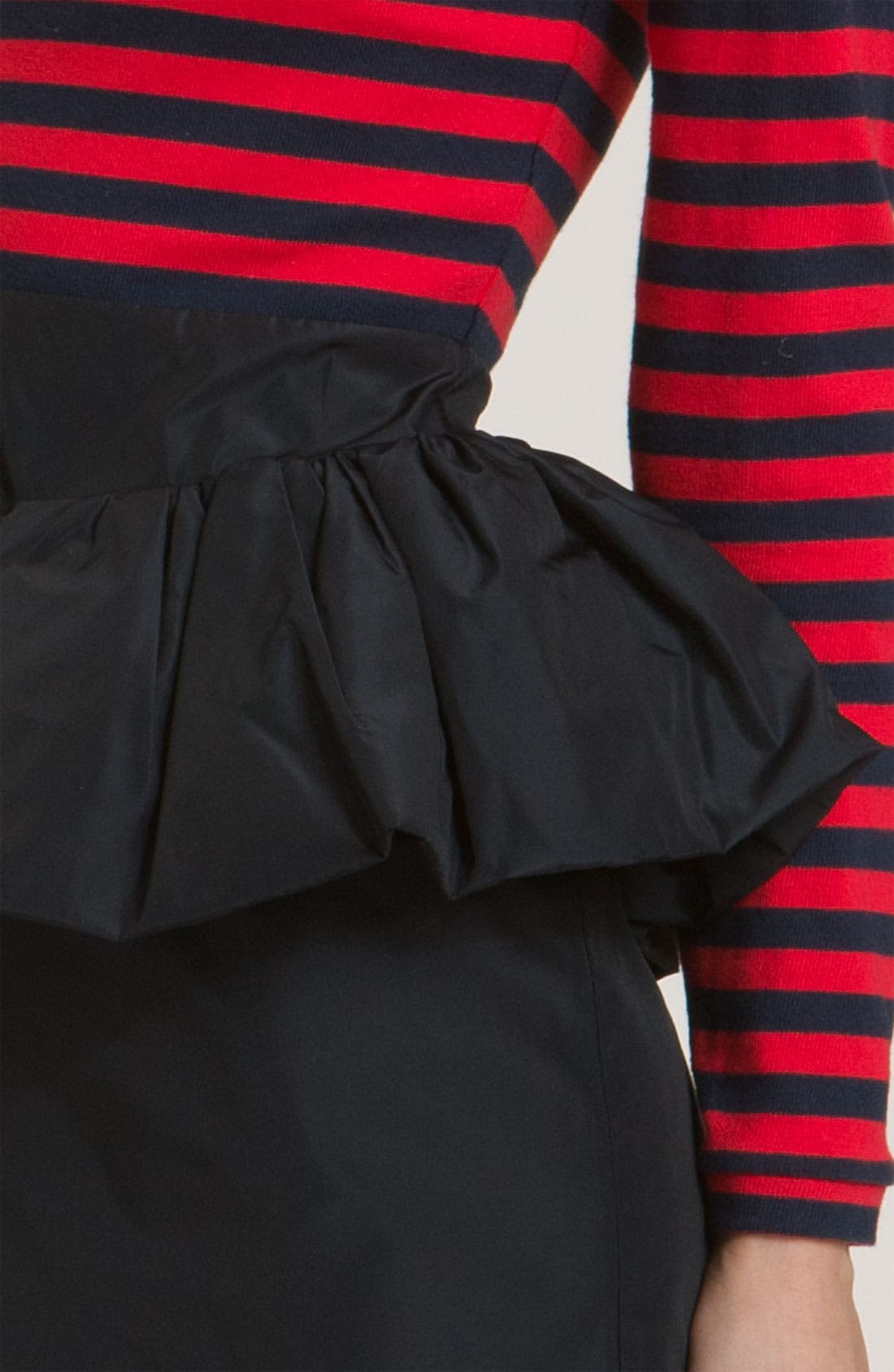 Alternate Image 2  - MARC BY MARC JACOBS 'Ellsworth' Striped Peplum Dress