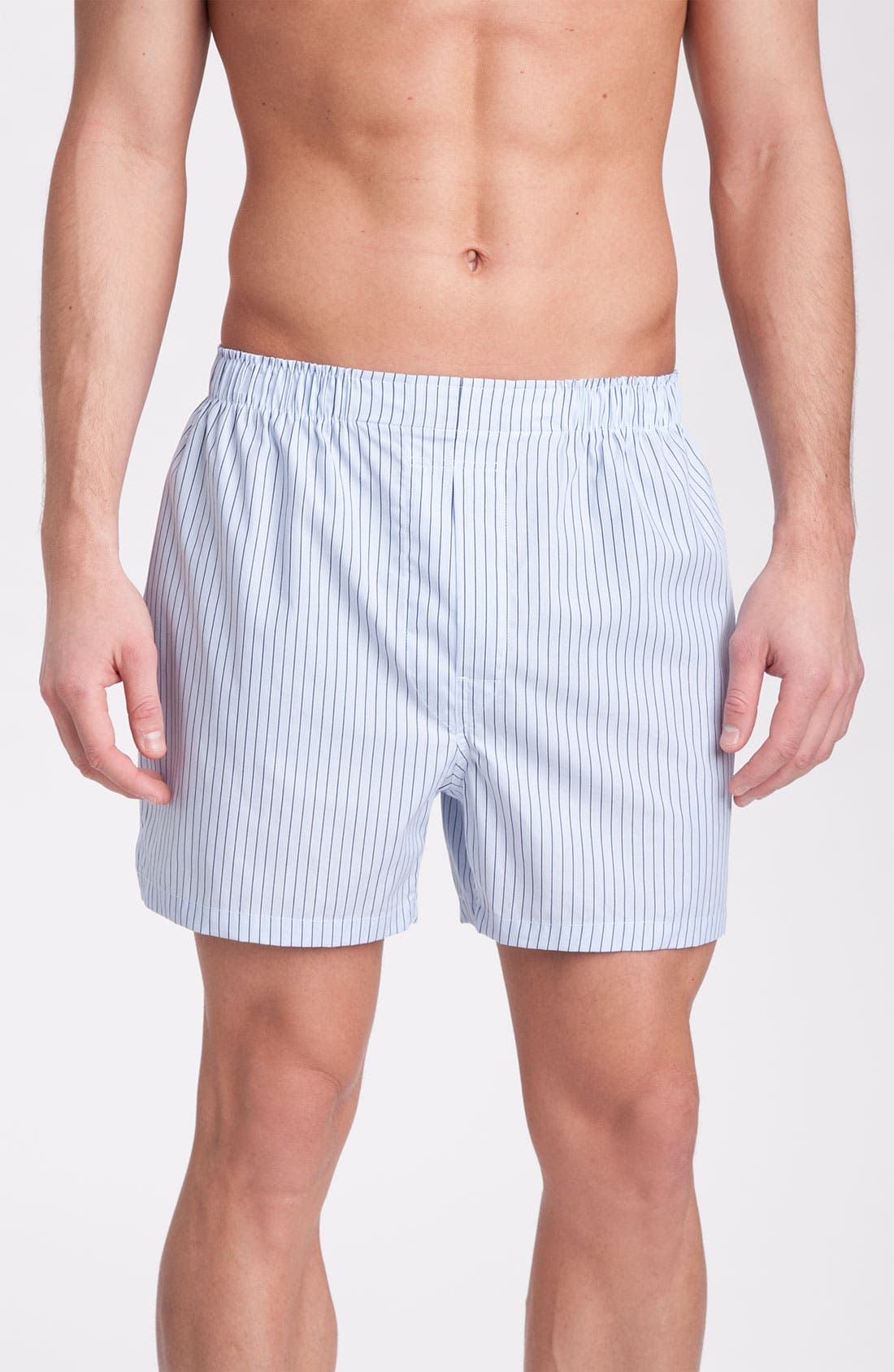 Alternate Image 1 Selected - Brooks Brothers 'Quad Bar Stripe' Boxers