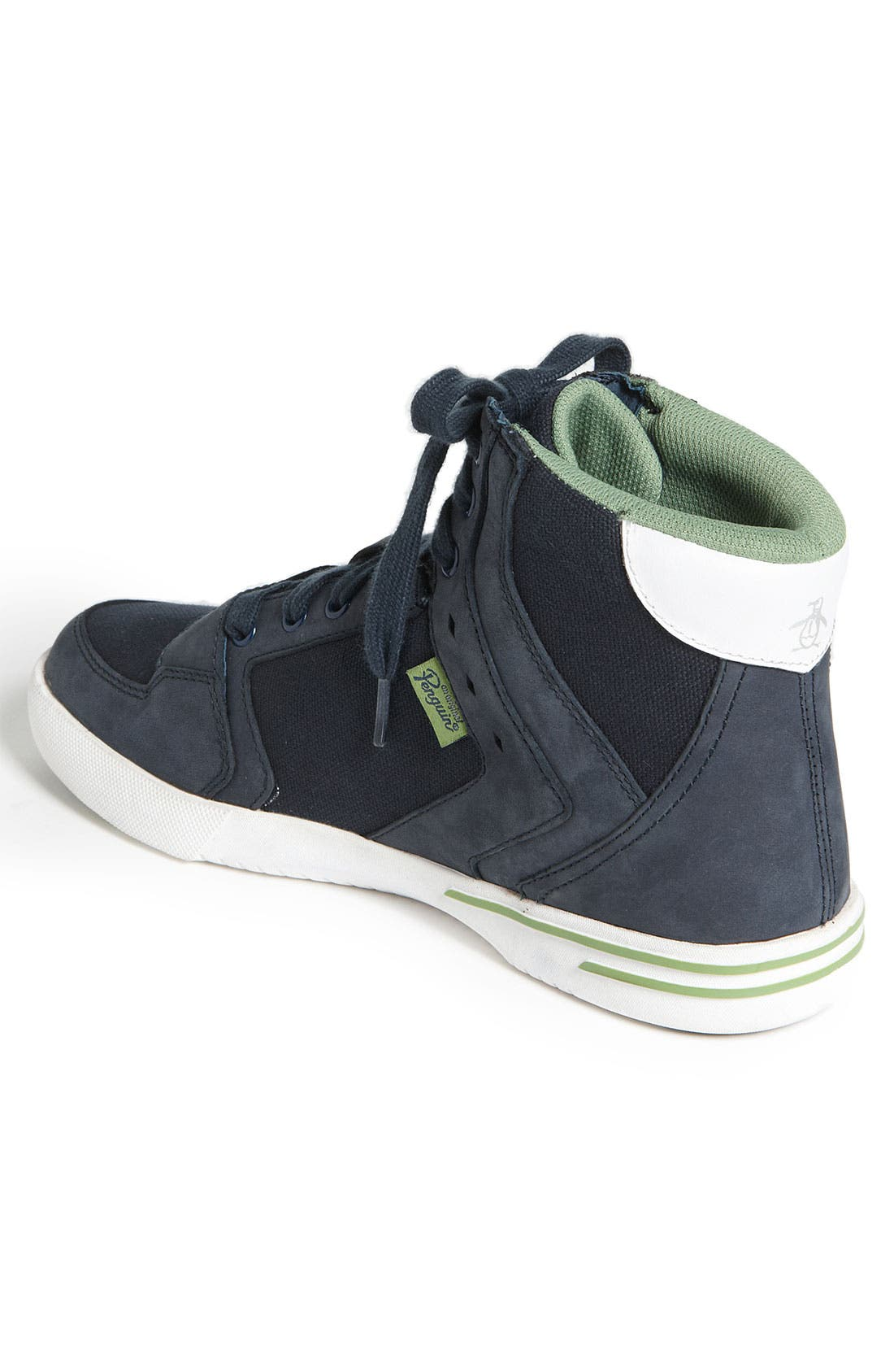 Alternate Image 2  - Original Penguin 'Moby' High Top Sneaker (Men)
