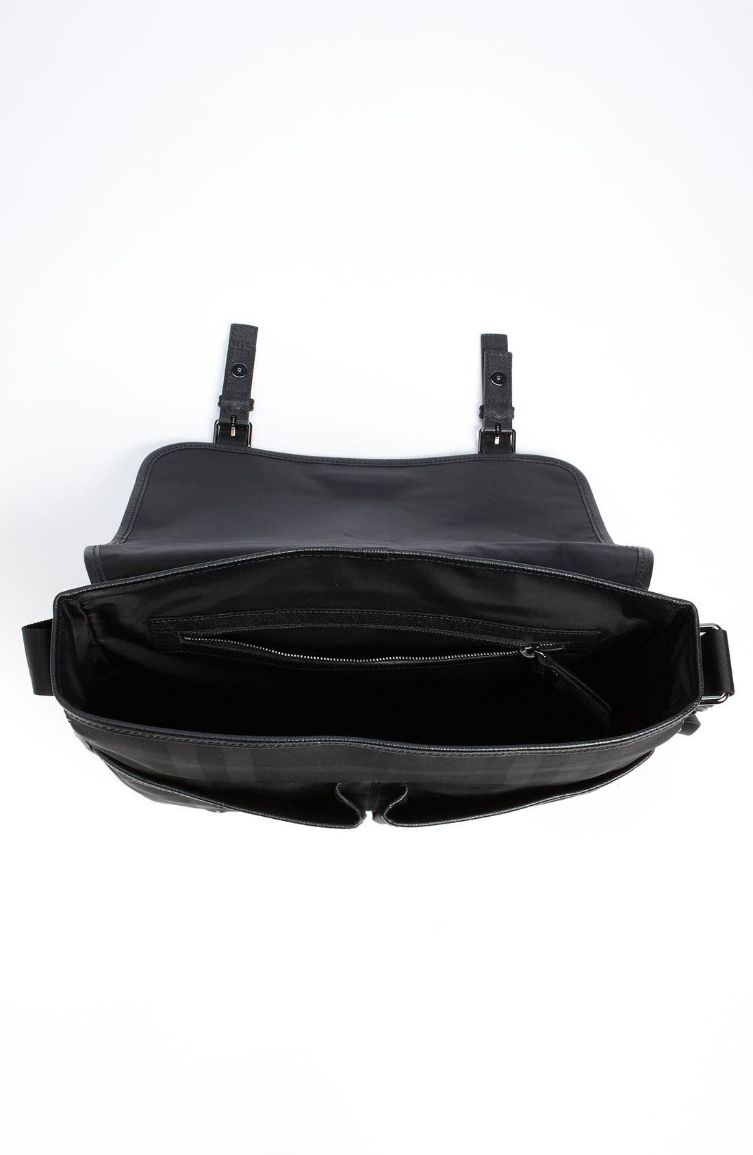 Alternate Image 4  - Burberry Medium Check Messenger Bag