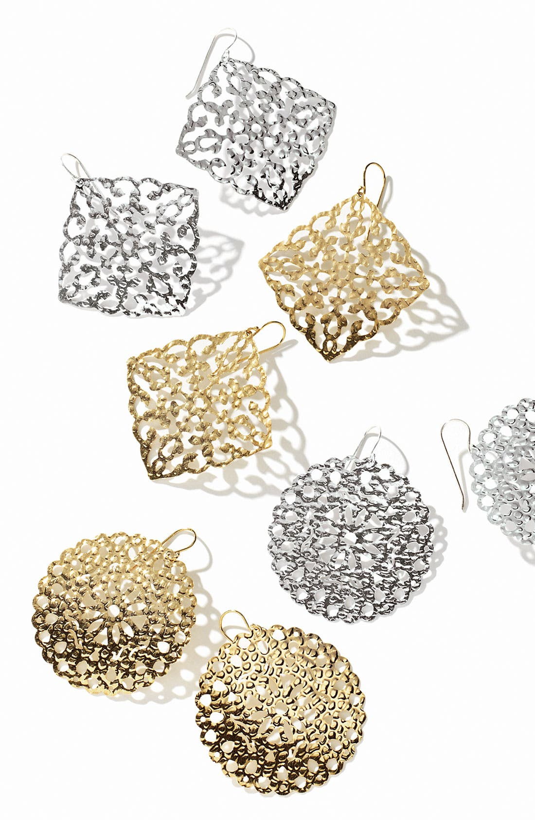 Alternate Image 3  - Argento Vivo 'Artisanal Lace' Round Drop Earrings (Nordstrom Exclusive)