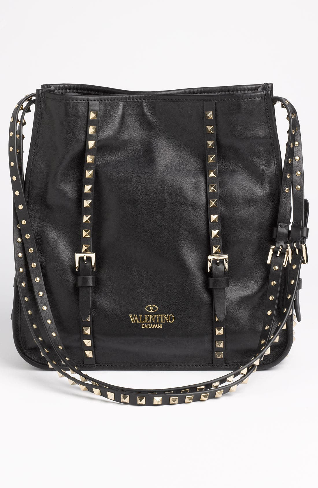 Alternate Image 4  - Valentino 'Small' Leather Shopper Tote