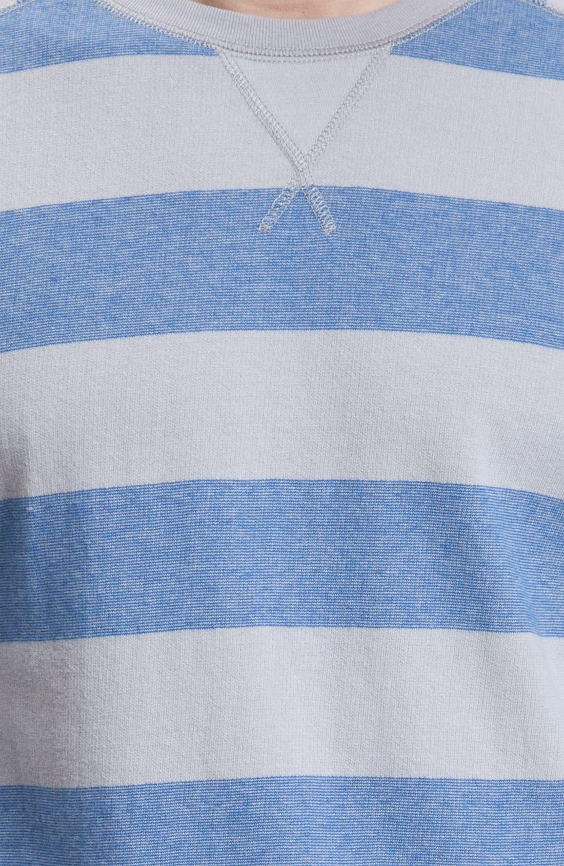 Alternate Image 3  - Quiksilver Long Sleeve Crewneck Shirt