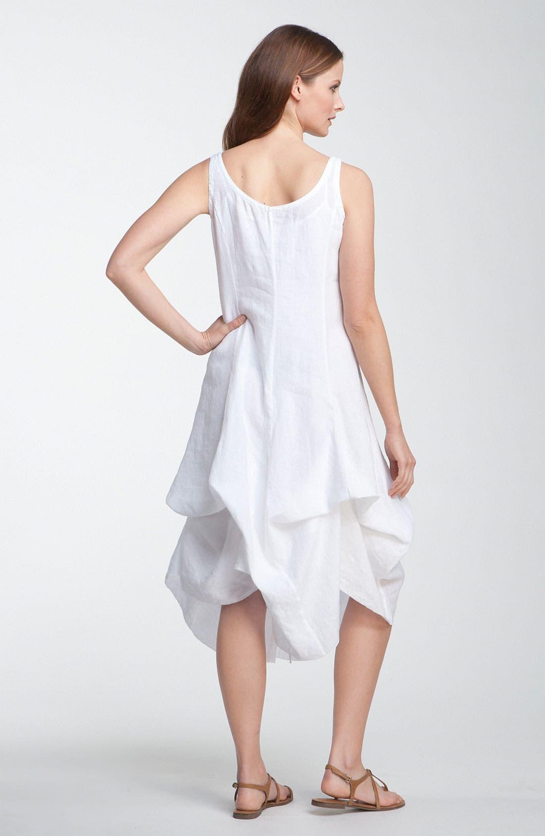 Alternate Image 3  - Eileen Fisher Cotton Dress with Convertible Hem
