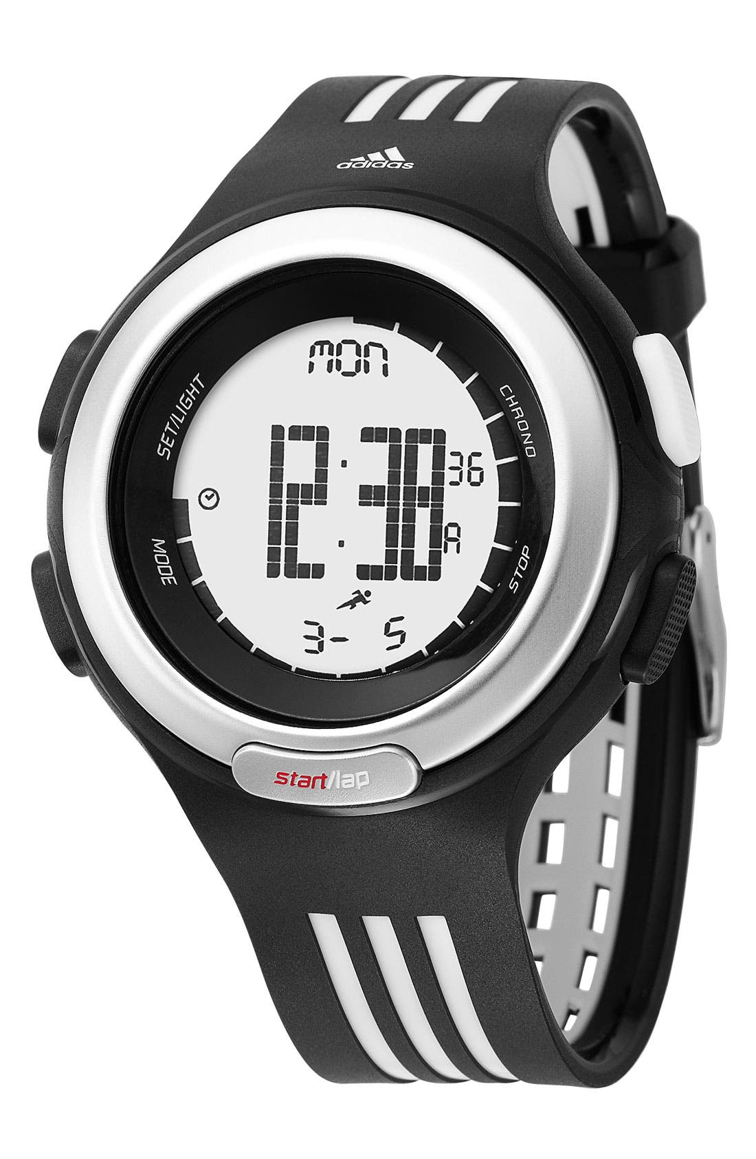 Alternate Image 1 Selected - adidas Performance 'Response' Digital Watch