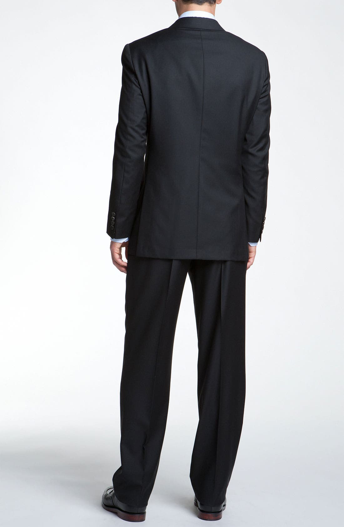 Alternate Image 2  - Hickey Freeman Herringbone Suit
