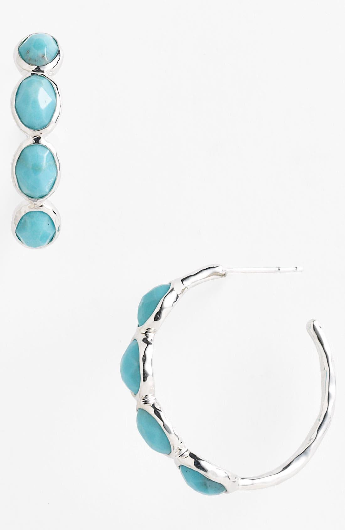 Main Image - Ippolita 'Rock Candy - Number 2' 4 Stone Hoop Earrings