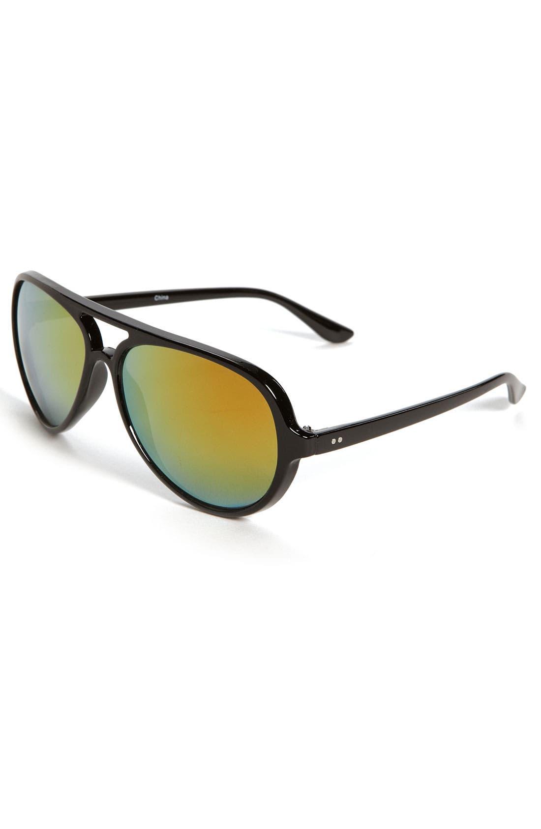 Alternate Image 1 Selected - Icon Eyewear 'Matt' Aviator Sunglasses (Big Boys)