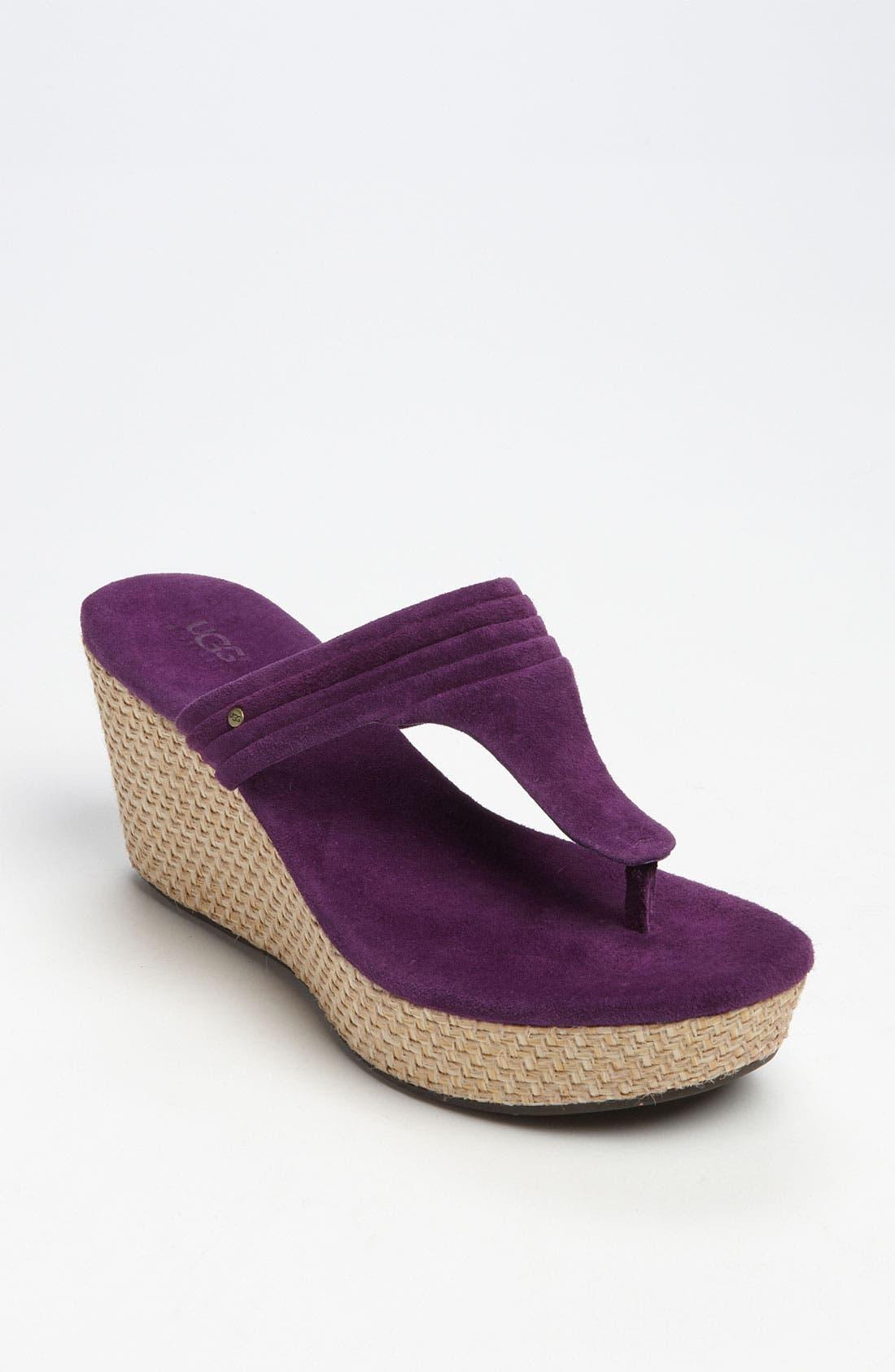 Main Image - UGG® Australia 'Zamora' Wedge Sandal