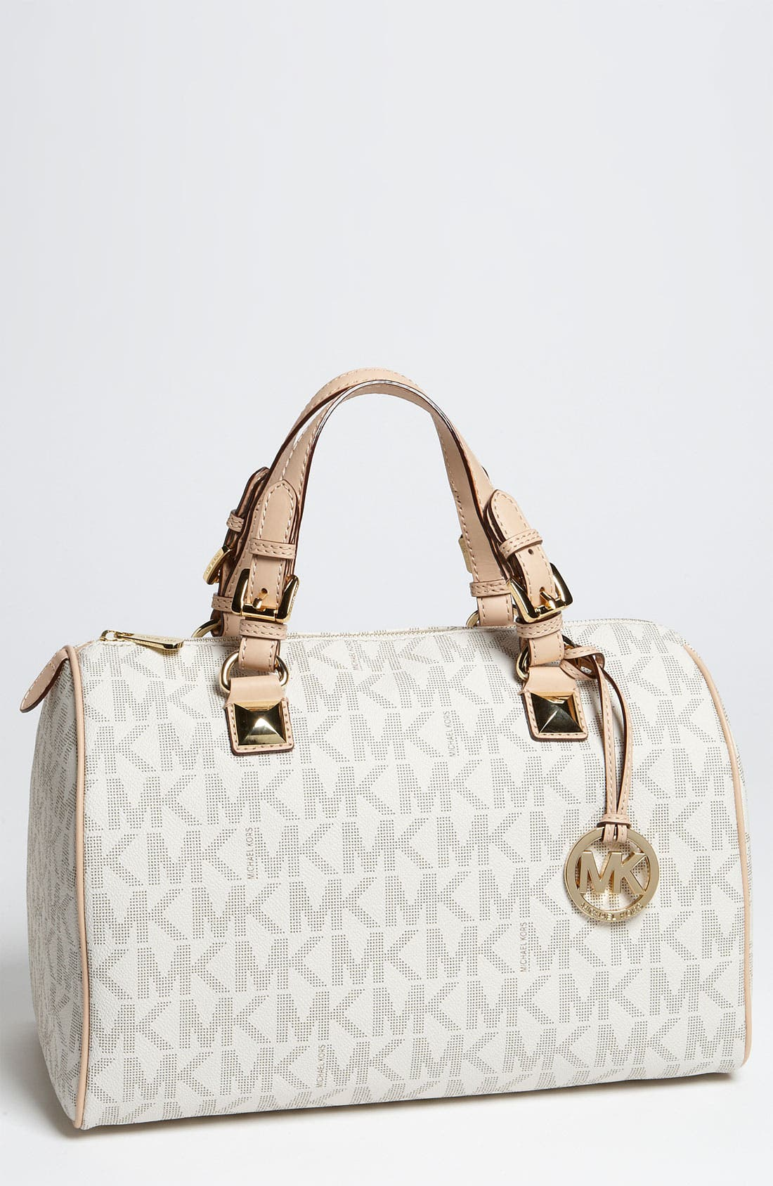 Alternate Image 1 Selected - MICHAEL Michael Kors 'Grayson Logo' Satchel, Large