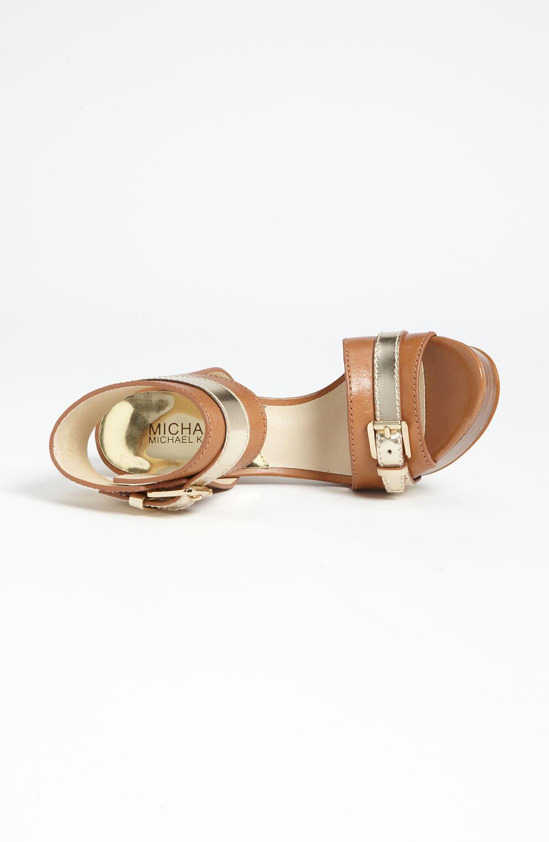 Alternate Image 3  - MICHAEL Michael Kors 'Grace' Sandal