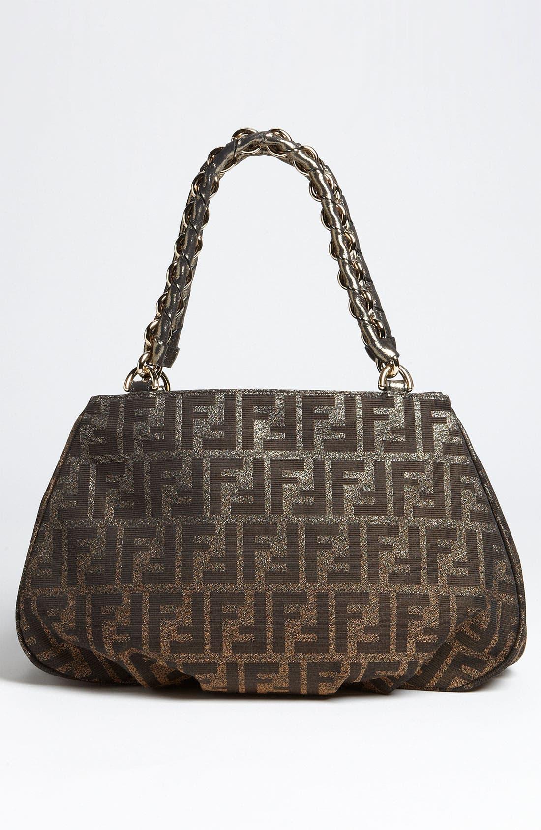Alternate Image 4  - Fendi 'Mia - Small' Shopper