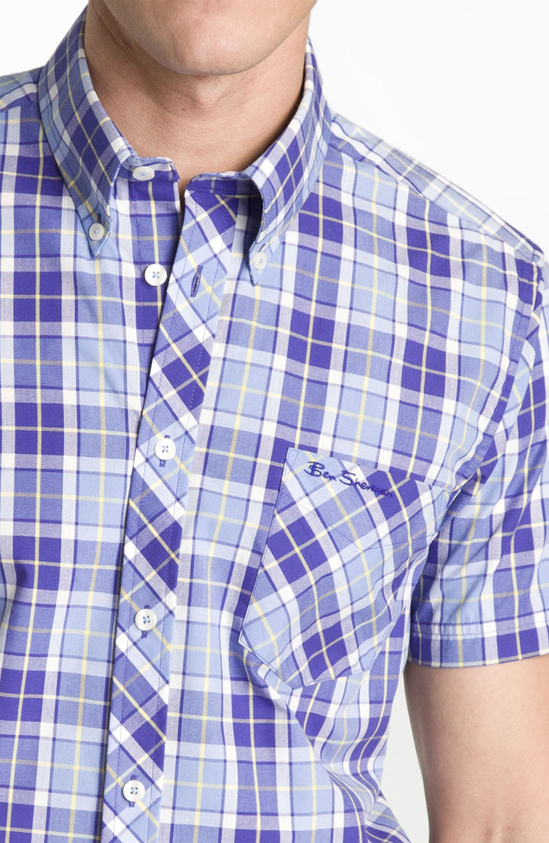 Alternate Image 3  - Ben Sherman 'Covent' Plaid Woven Shirt