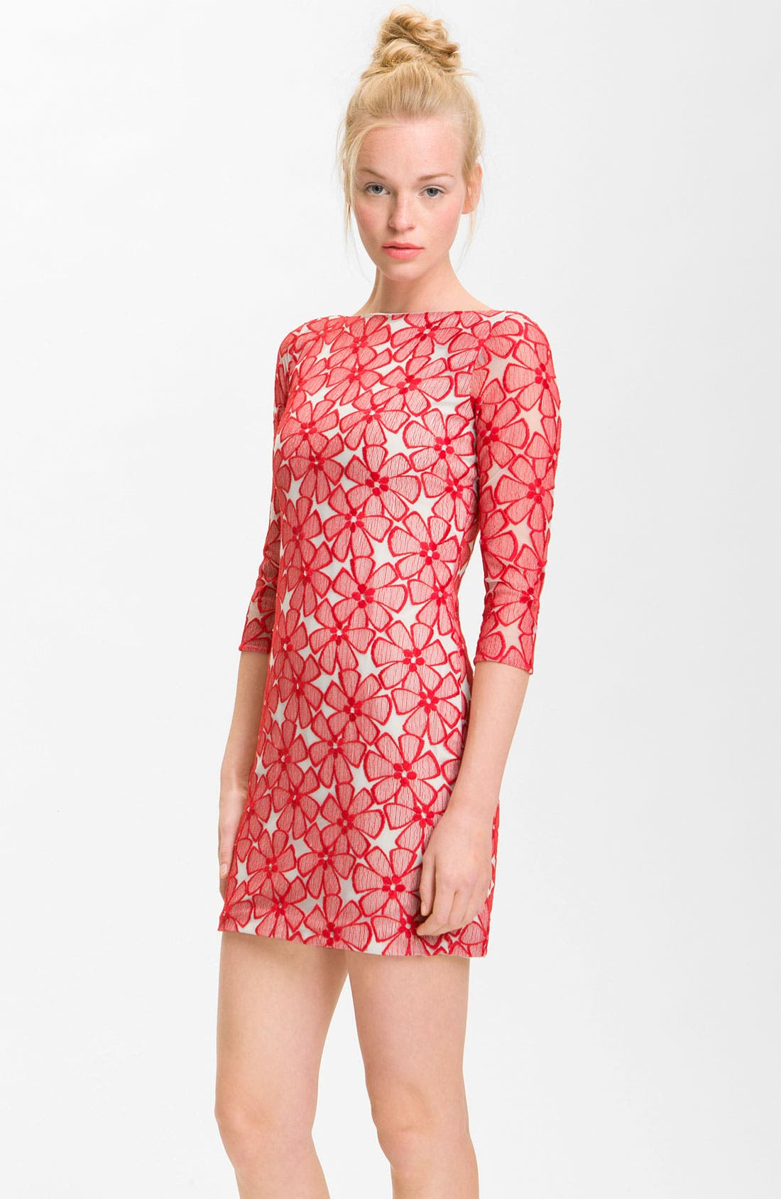 Alternate Image 1 Selected - Diane von Furstenberg 'Sarita' Lace Dress