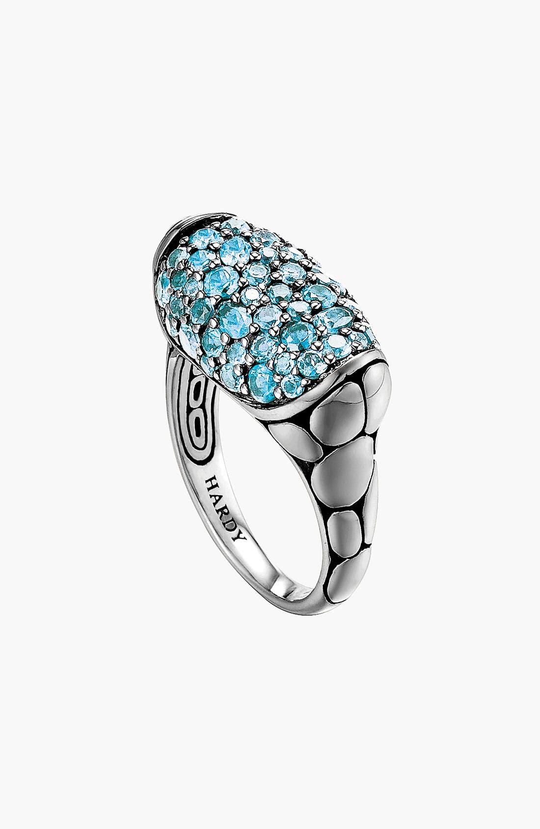 Alternate Image 1 Selected - John Hardy 'Kali Silver Lava' Small Oval Ring
