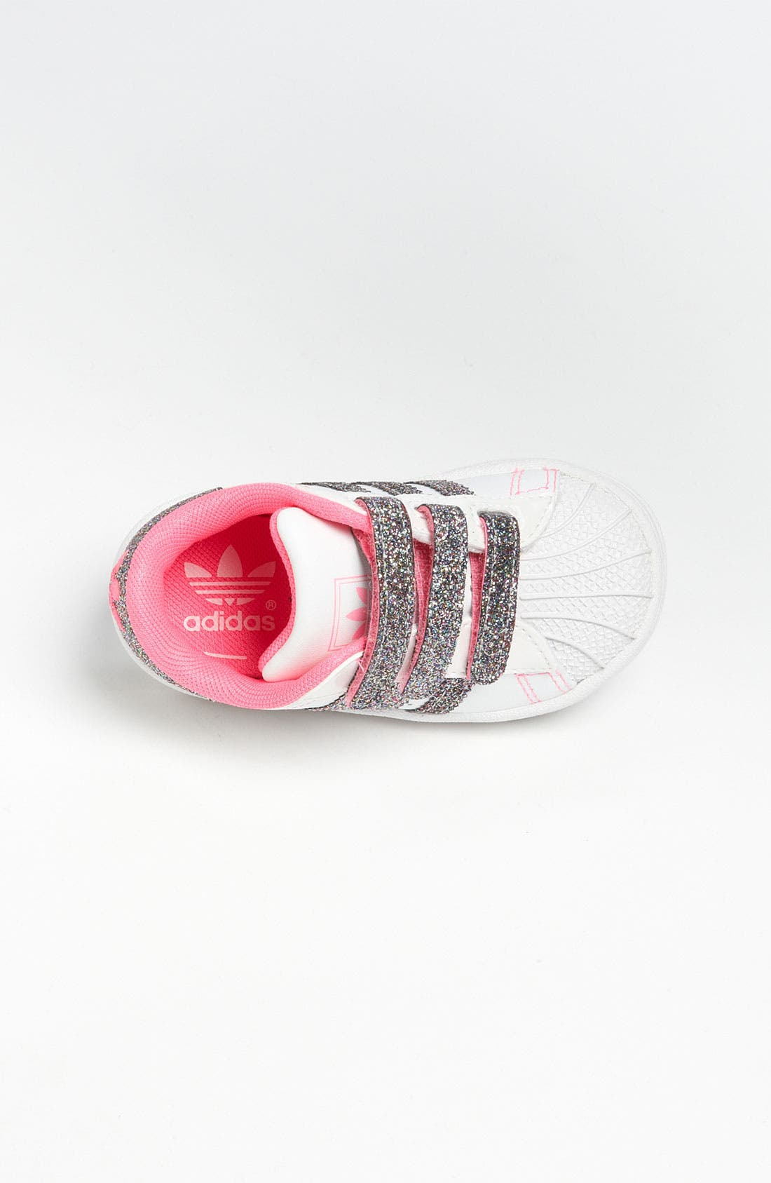 Alternate Image 3  - adidas 'Sparkle Superstar 2' Sneaker (Baby, Walker & Toddler)