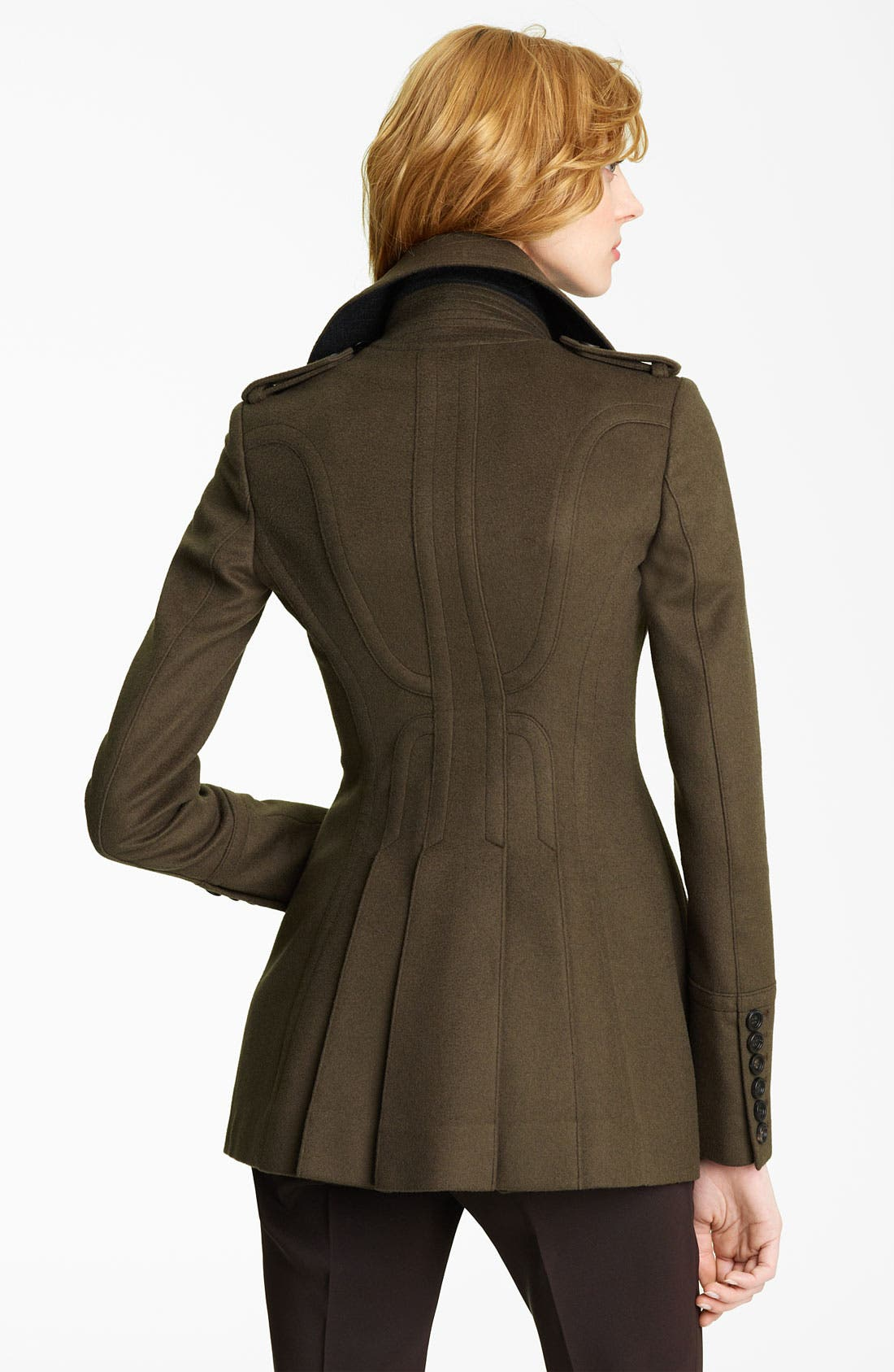 Alternate Image 2  - Burberry Prorsum Wool & Cashmere Coat