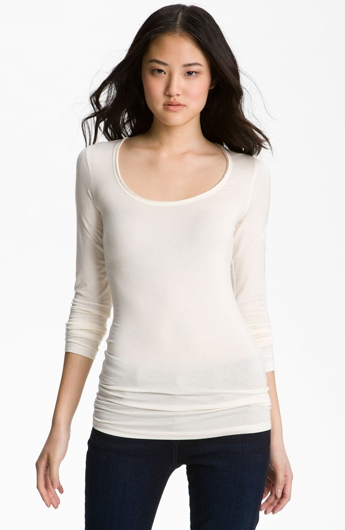 Alternate Image 1 Selected - Caslon® Scoop Neck Tee