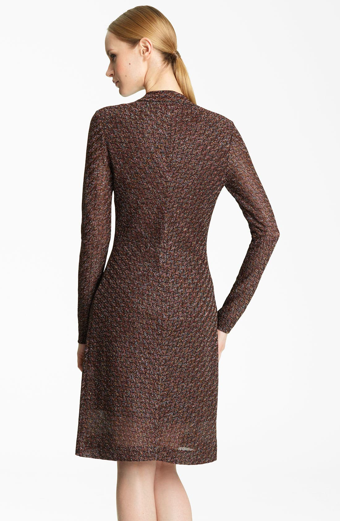 Alternate Image 2  - Missoni Long Metallic Knit Cardigan
