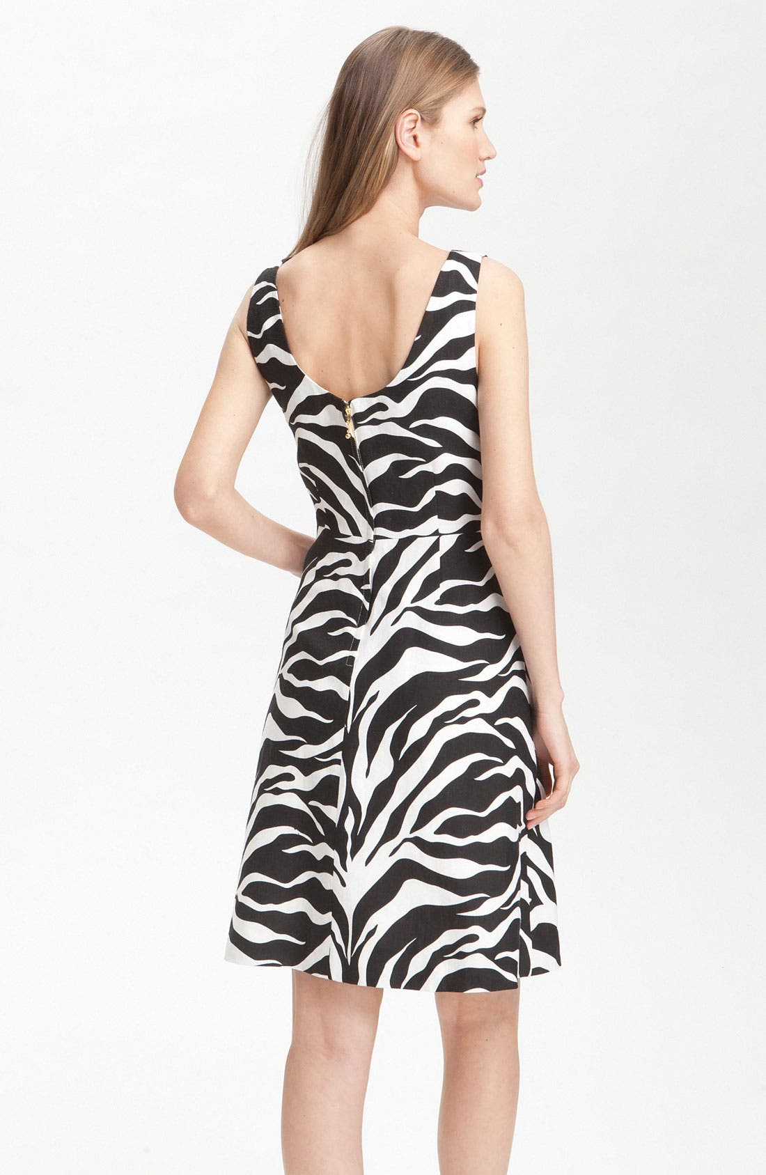 Alternate Image 2  - kate spade new york 'jillian' animal print dress