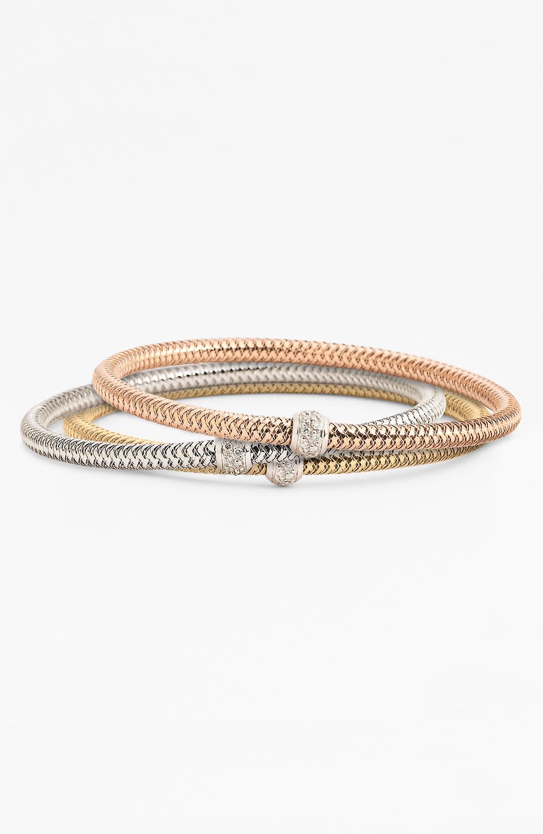Alternate Image 1 Selected - Roberto Coin 'Mini Primavera' Diamond Bracelet