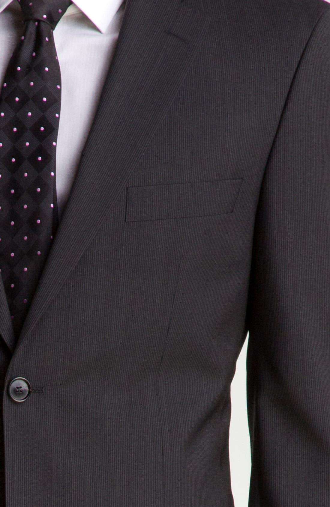 Alternate Image 6  - BOSS Black 'Pasini/Movie' Stripe Suit