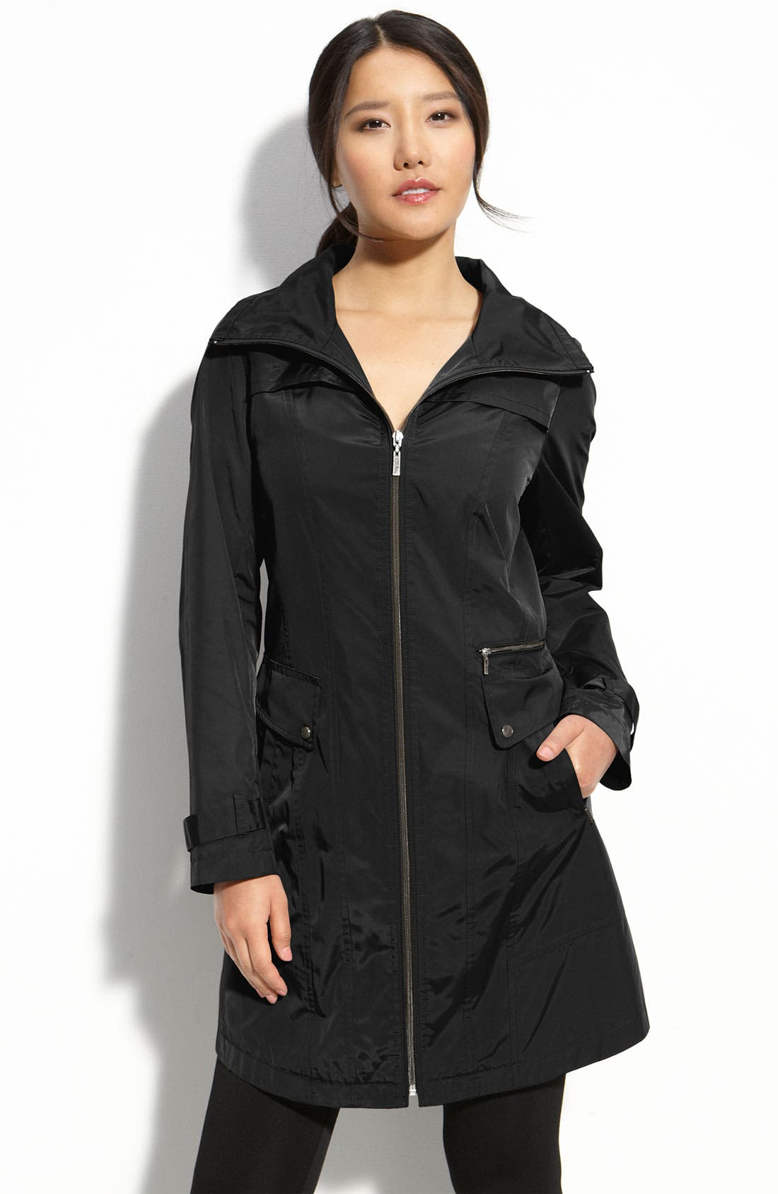 Alternate Image 1 Selected - Cole Haan Packable Raincoat