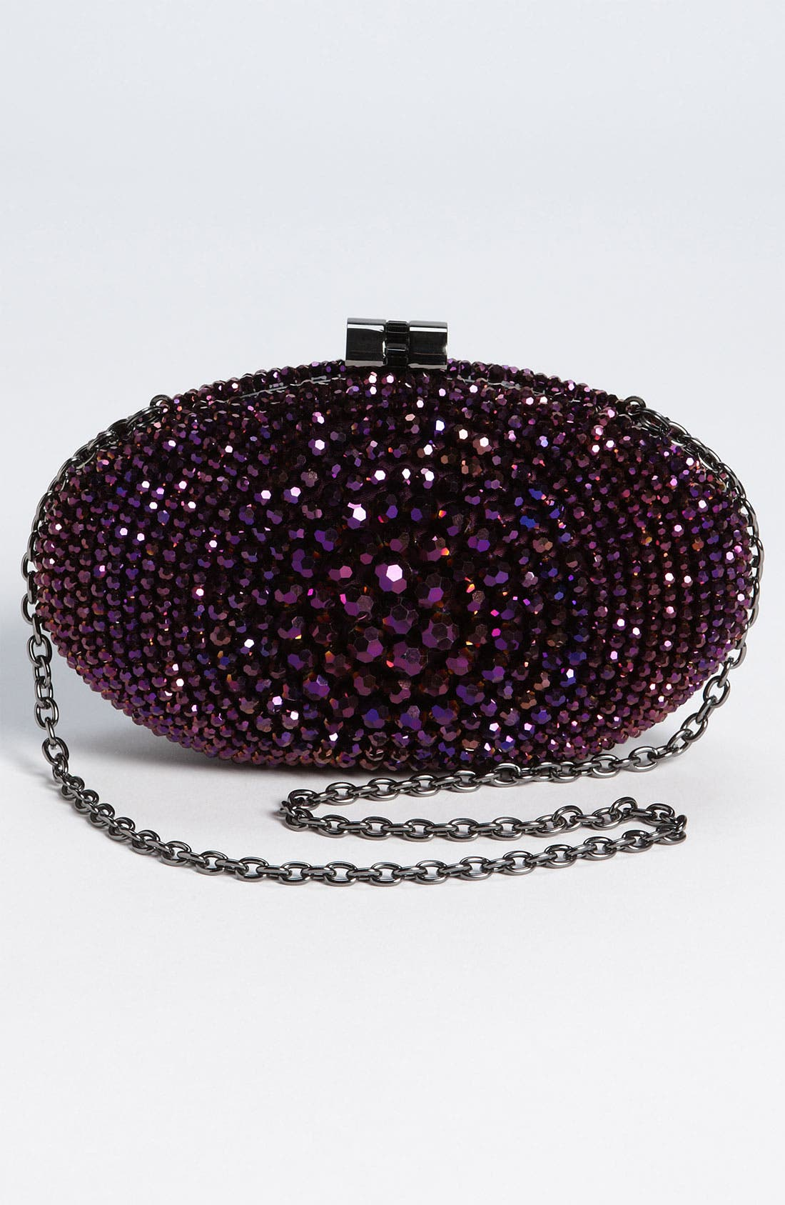 Alternate Image 4  - Sondra Roberts 'Beaded Bull's Eye' Clutch