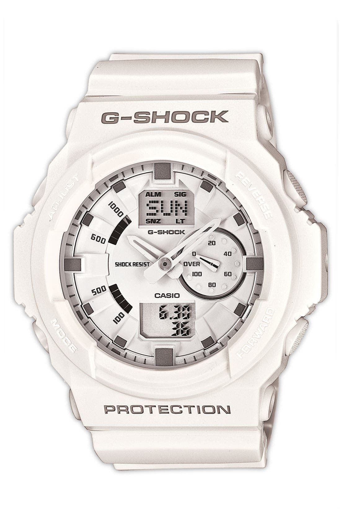 Alternate Image 1 Selected - G-Shock 'X-Large' Dual Movement Watch, 52mm
